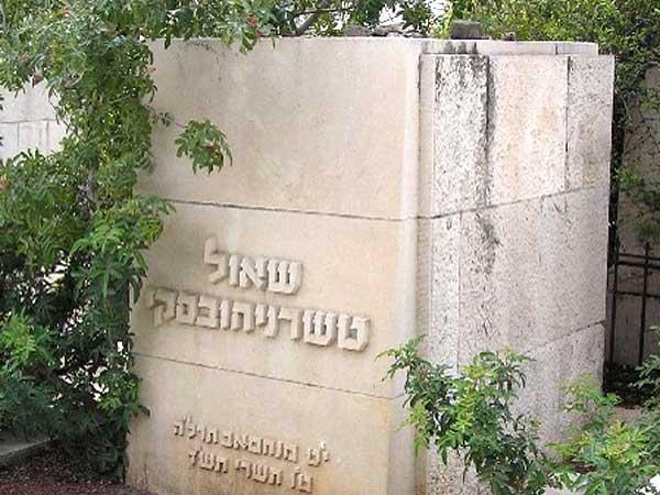 סיור בבית הקברות טרומפלדור