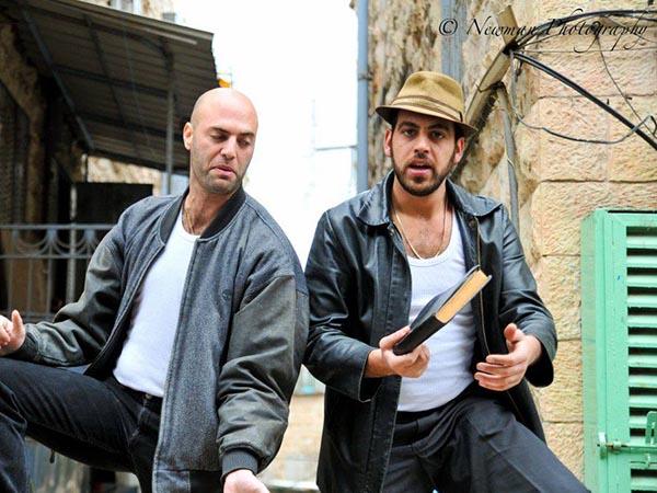סיור עם שחקן בירושלים או ביפו