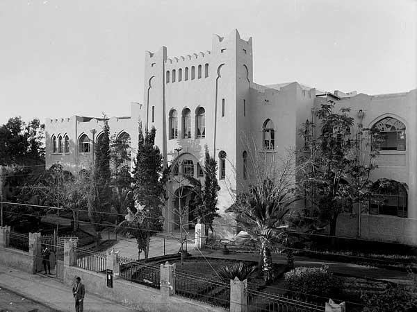 סיור עם מקרן בתל אביב