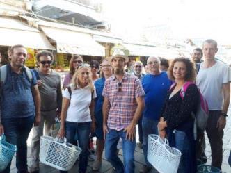 סיור בשוק - קיידנס פתח תקווה