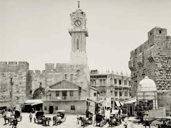 סיור בירושלים עם מקרן