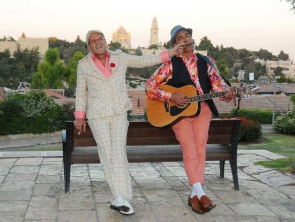סיור עם שחקנים בירושלים