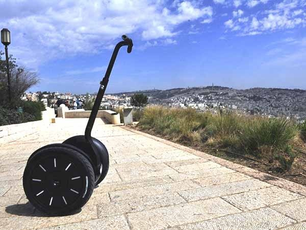 סיור סגווי בירושלים לקבוצות