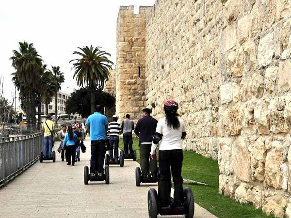 סיור סגווי בירושלים