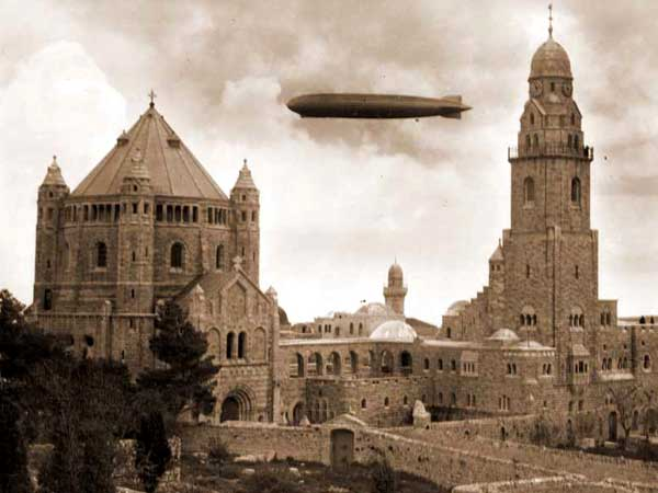 סיור בירושלים עם מקרן - פנס הקסם